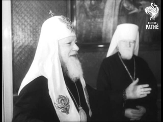 Delegation Of Us Churchmen In Moscow (1956)