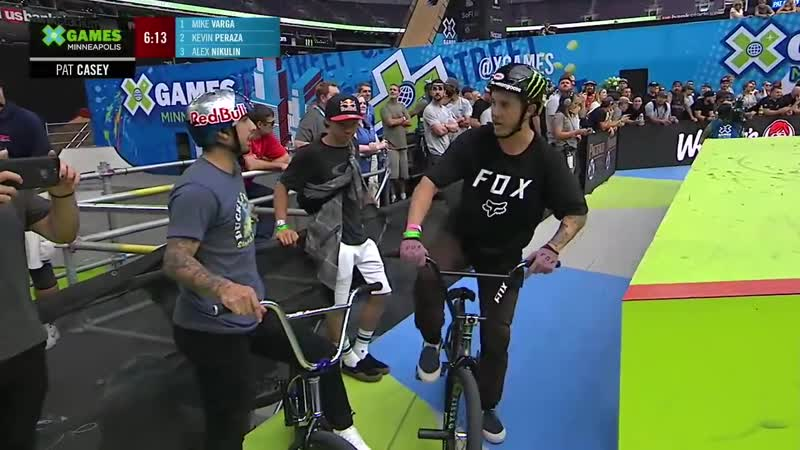 Dave Mirra's BMX Park Best Trick X Games Minneapolis 2019