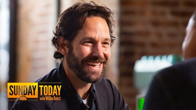 Paul Rudd on 25 years of comedy, 'Ant-Man,' 'Living with Yourself' | Sunday TODAY