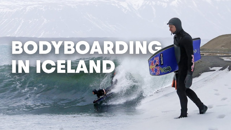 Bodyboarding the Ice Cold Waters of Iceland