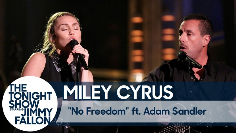 Miley Cyrus Opens The Tonight Show with Moving Performance of No Freedom