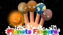 🌞Planets Finger Family🖐Solar System Finger play song Nursery Rhymes Songs for Kids