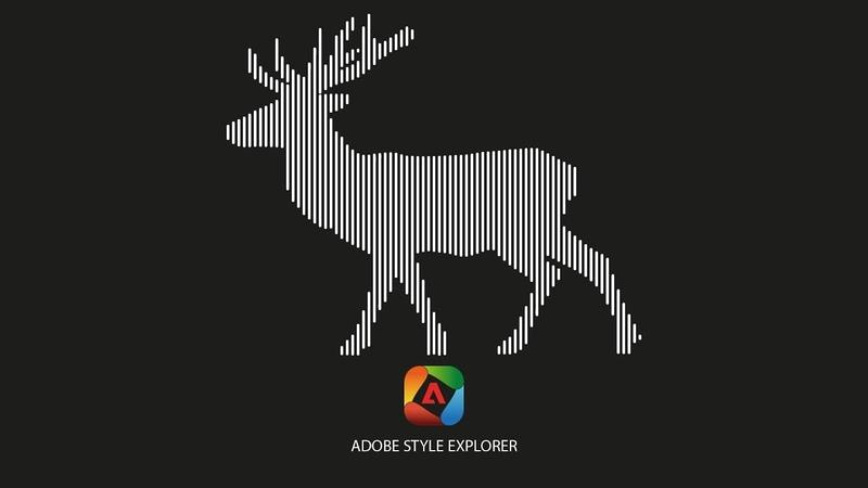 Красота векторных линий в adobe illustrator