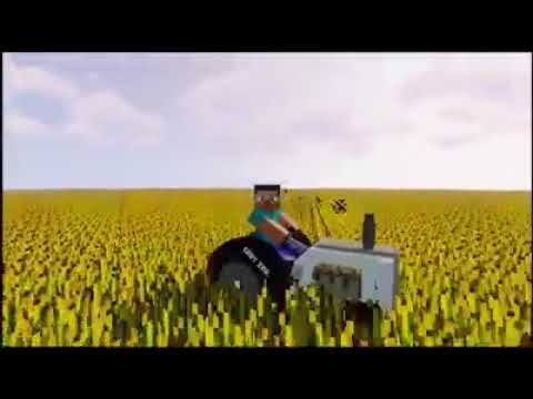 Oraj pole na traktore minecraft edition
