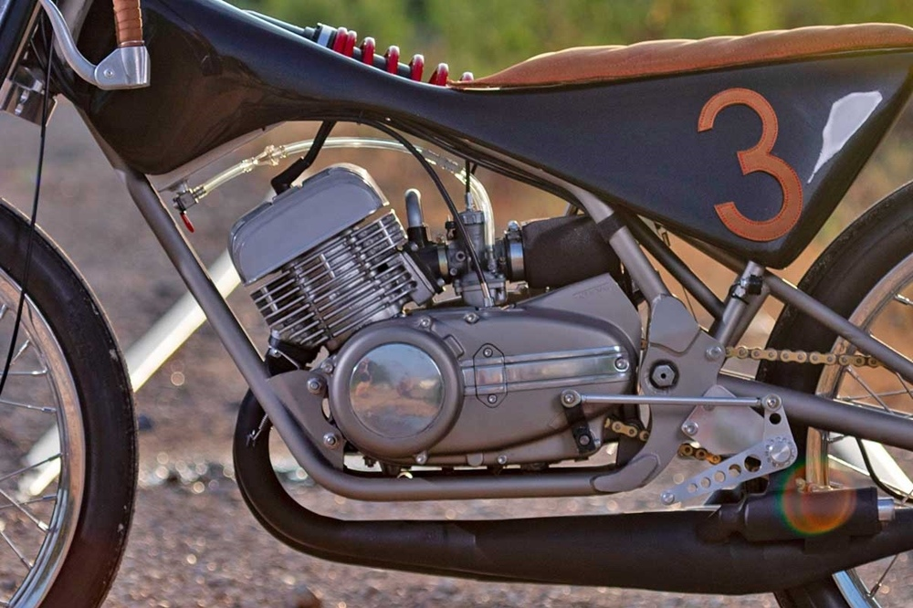 Двухтактный боард-трекер Yamaha RD350