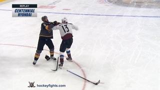 Valeri Nichushkin vs Deryk Engelland Dec 23, 2019
