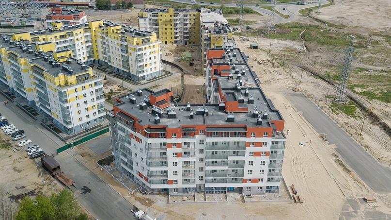 Отчет о ходе строительства ЖК «Апрель» май 2020, изображение №33