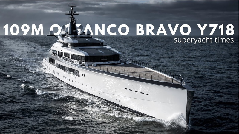 Oceanco Yacht Bravo Eugenia Sea Trials | 4K