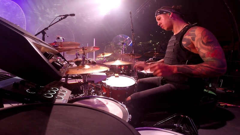 The Black Eyed Peas The Time Dirty Beat Live DrumCam @LA Miguel Ortiz Titi