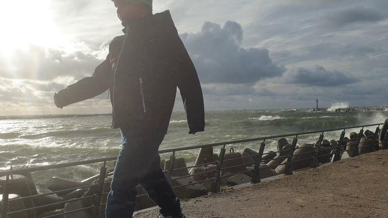 Pasižiūrėti į audringą jūrą šiandien loveklaipeda