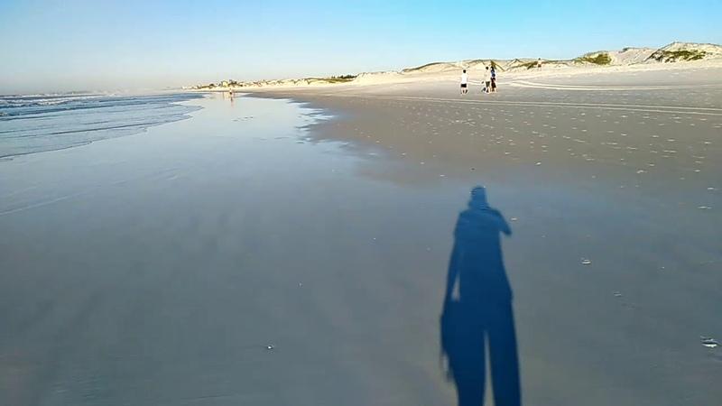 Cabo Frio. Утренняя прогулка по пляжу.