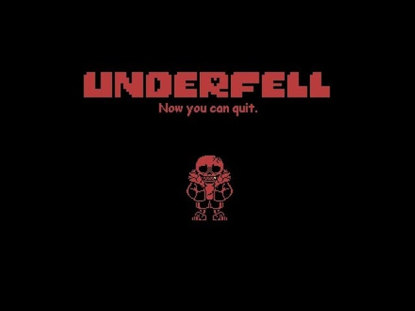 No heal phase 1 full underfell sans fight