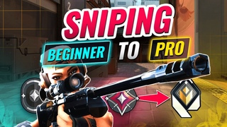 4 Levels of SNIPING: Beginner to Pro - Valorant