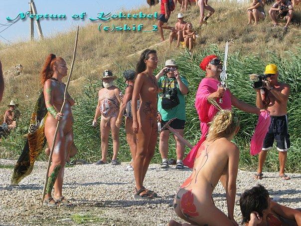 праздник нептуна коктебель фото считают