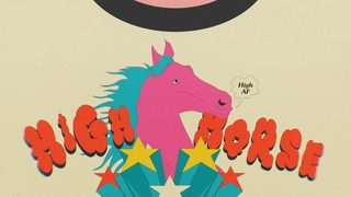 Deap Vally - High Horse (feat. KT Tunstall & Peaches) (Official Lyric Video)