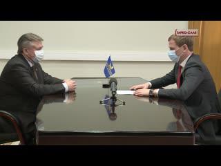 Окружной депутат встретился с главой Пуровского района