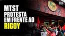 MTST vai à porta do Ricoy, em São Paulo, em protesto contra tortura