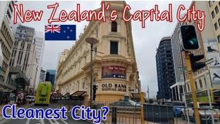 2020 Driving Tour 🚗  - Wellington City Centre, New Zealand (Part 1 - Watch in HD!)