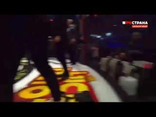 Исмаилов и Минеев устроили массовую драку во время турнира Fight Nights Global в