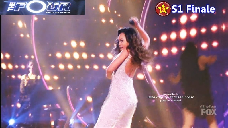 Evvie McKinney sings Proud Mary filled with Energetic Dancing The Four Finale