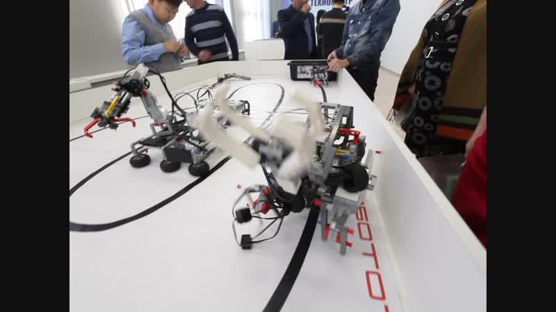Техногород Булат, студия робототехники. Фрагмент 3. Видео: Ловцов О.Б.