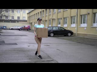 Miss Melissa - Determined Delivery Girl All Sex, Hardcore, Blowjob, OldYoung