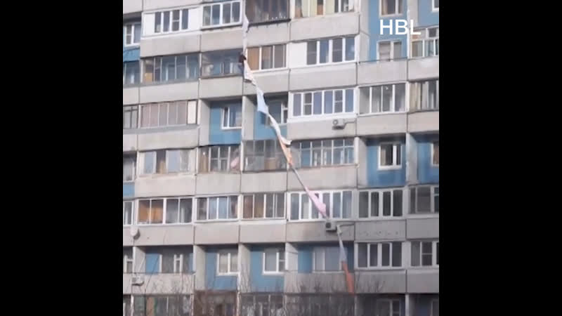 Этиловый представитель упал с 7 го этажа