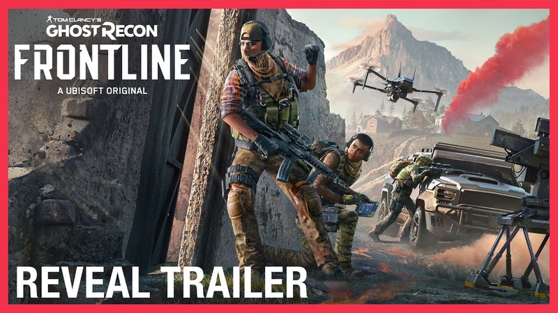 Tom Clancy's Ghost Recon Frontline Reveal Trailer Ubisoft NA