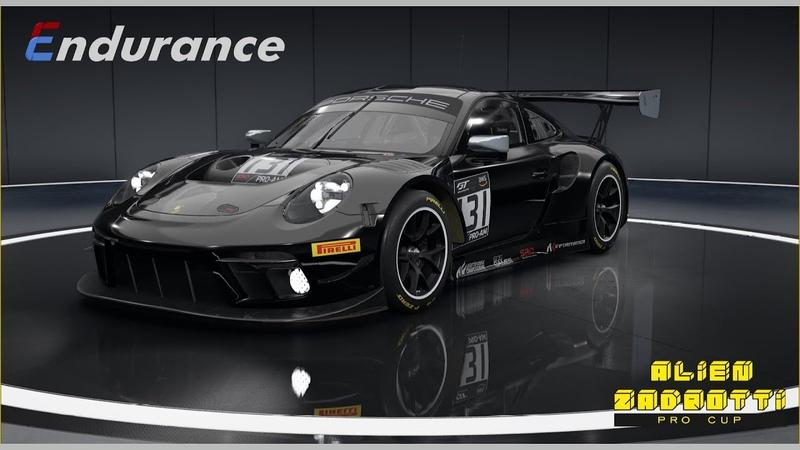 Педаль в пол Alien Zadrotti cup Rd3. Paul Ricard Circuit. Porsche 911 GT3 R.