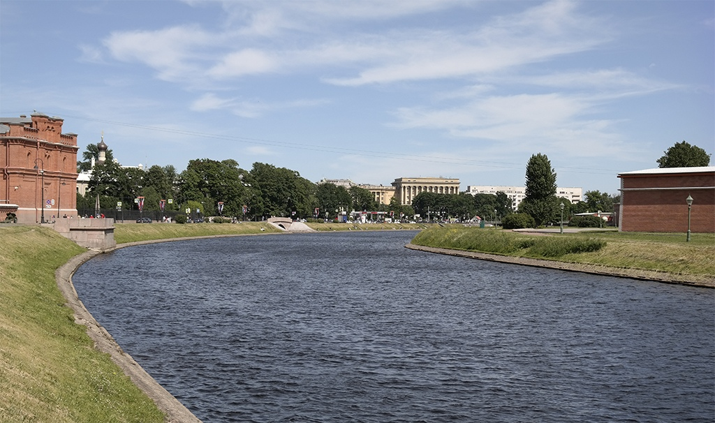 Кронверкский проток, Петропавловская крепость, Петербург
