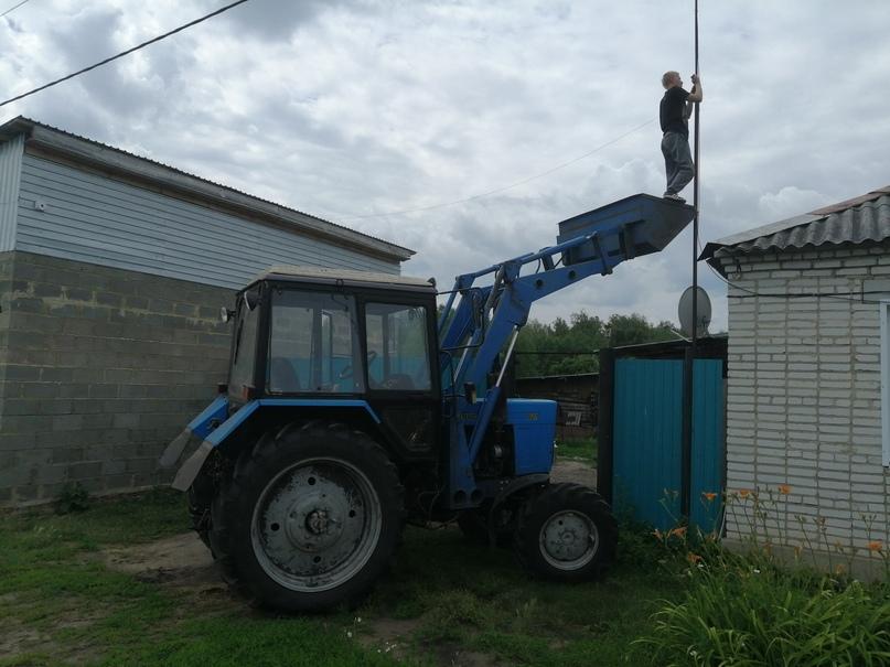 крылья не нужны, когда есть трактор
