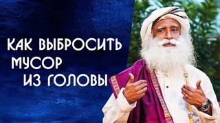 Не забивайте голову как выбросить мусор из головы - Садхгуру на Русском
