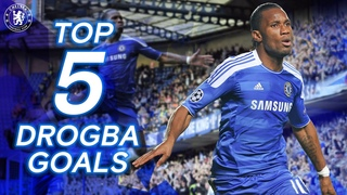 Didier Drogba's Five Greatest Goals For The Blues | The King Of The Bridge