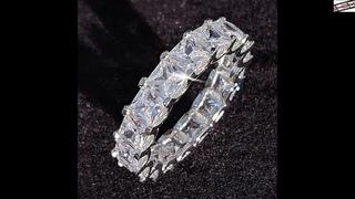 #Роскошный #обручальный #браслет #из #стерлингового #серебра 925 #пробы, #кольцо #вечности