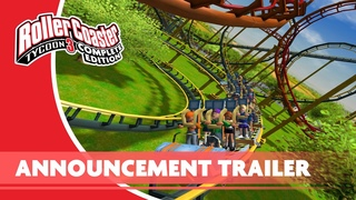 RollerCoaster Tycoon 3: Complete Edition Announce Trailer