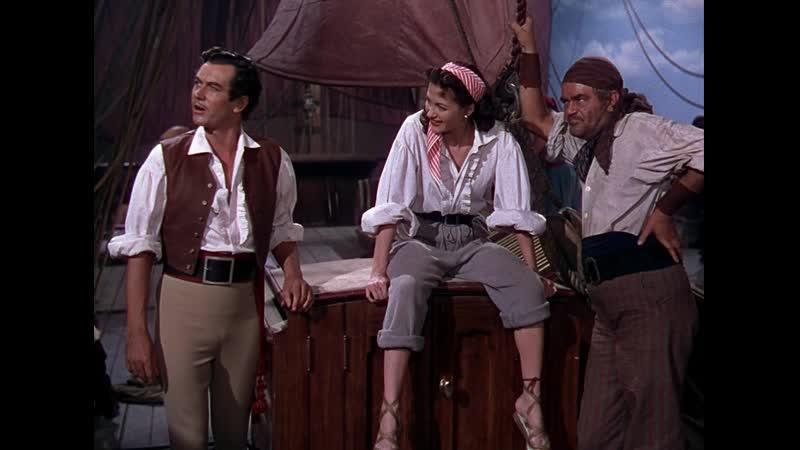 1. Дочь пирата (1950) BDRip 720p   Перевод профессиональный многоголосый (СТС)