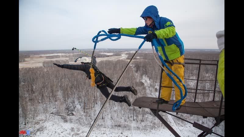 Evgeniy K. прыжок FreeFallProX команда ProX74 объект AT53 Chelyabinsk 2019 1 jump RopeJumping