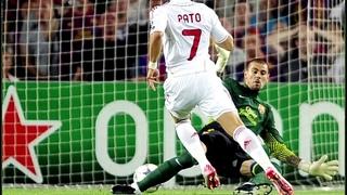 Alexandre Pato vs Barcelona - Quero ver pegar!