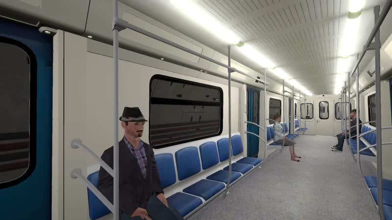 Поездка пассажиром от Ломоносовского до Мичуринского проспекта в новом трейлере игры Metro Simulator 2020