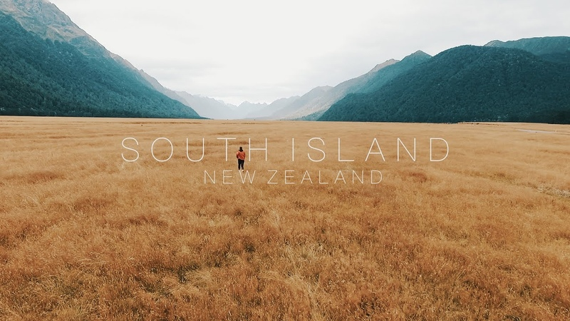 South Island New Zealand CINEMATIC TRAVEL FILM