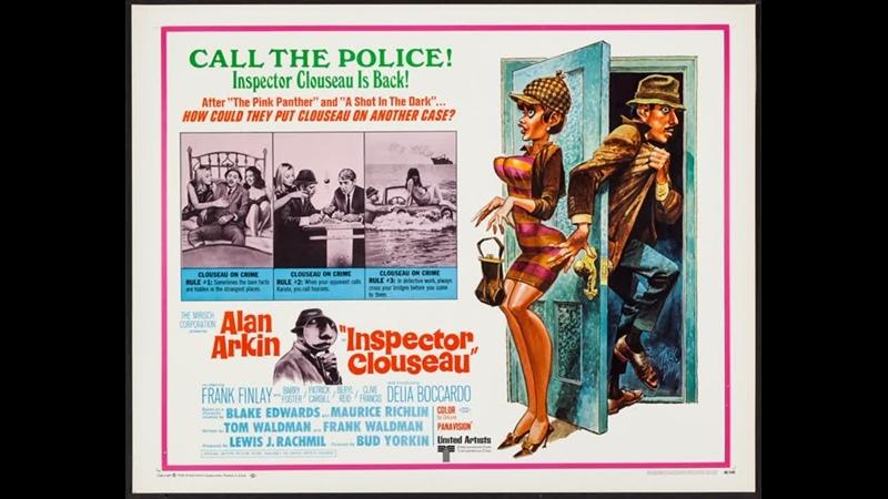 Inspector Clouseau (1968) Alan Arkin, Frank Finlay, Delia Boccardo