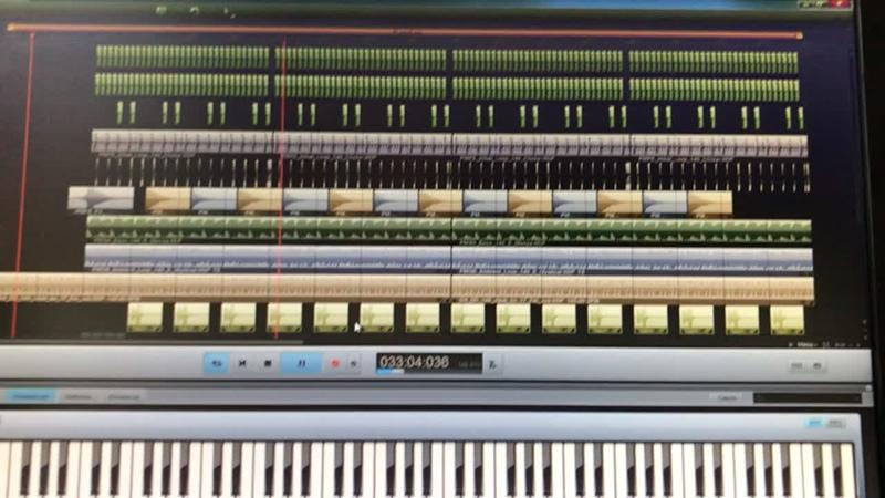 Sound track Gauss-124