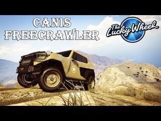Canis Freecrawler. Машина на подиуме казино. Гонки со зрителями в GTA Online