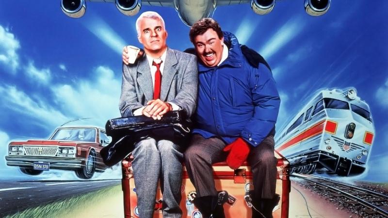 Самолётом поездом машиной 1987 Комедия