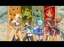 Аниме Богиня благословляет этот прекрасный мир аниме марафонсмотреть топ аниме все серии подряд