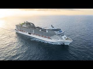 Видеообзор круизного лайнера MSC Grandiosa круизной линии MSC