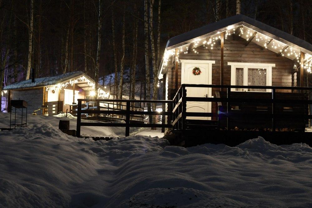 Зимний отдых на турбазе в Карелии