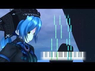 [Natsumi Moe - Virtual YouTuber] Canta per me - Noir【Japanese Piano Song Cover】