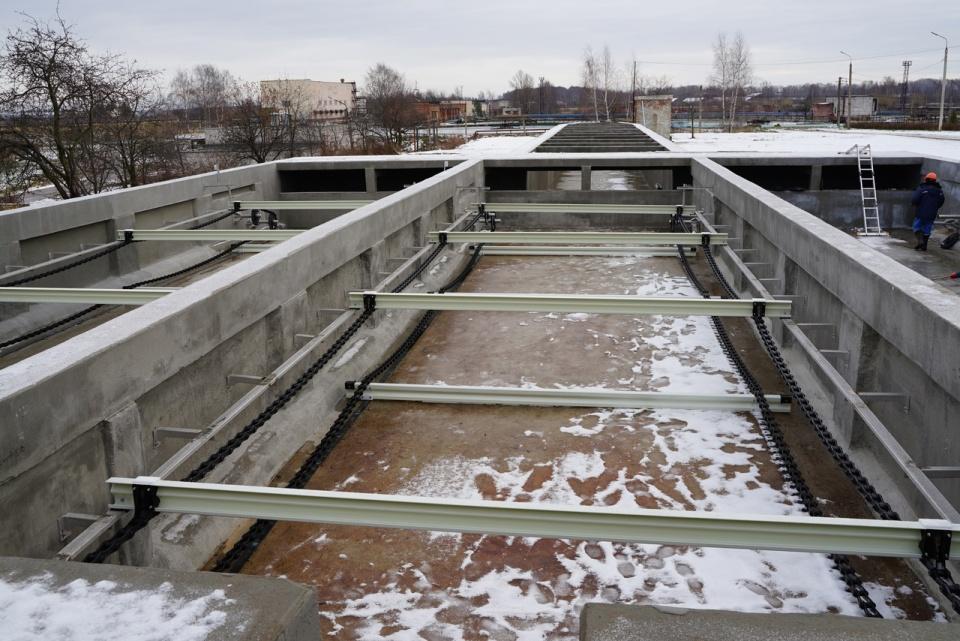 Ярославский Водоканал завершил первый этап работ по реконструкции одной из очередей очистных сооружений