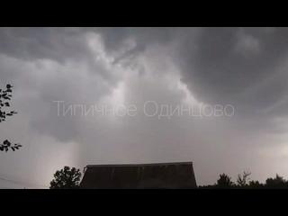 Шкваловый ворот и дождь в Перхушково